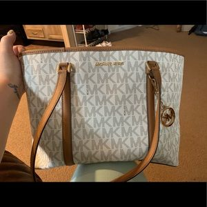 Authentic Michael Kors  bag and wallet